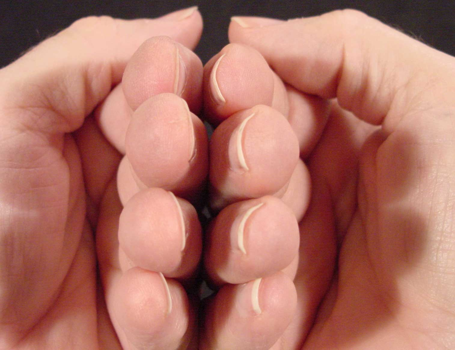 How You Curved Your Nails